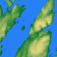 Nearby Forecast Locations - Honningsvåg - mapa