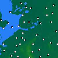 Nearby Forecast Locations - Marknesse - mapa