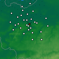 Nearby Forecast Locations - Aalst - mapa
