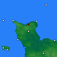 Nearby Forecast Locations - Vigite du Haumet - mapa