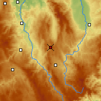 Nearby Forecast Locations - Sembadel - mapa