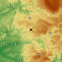 Nearby Forecast Locations - Cassagnes - mapa