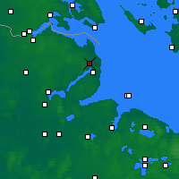 Nearby Forecast Locations - Schönhagen - mapa