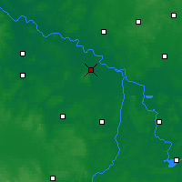 Nearby Forecast Locations - Seehausen - mapa