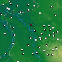 Nearby Forecast Locations - Wesel - mapa