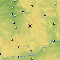 Nearby Forecast Locations - Neumarkt in der Oberpfalz - mapa
