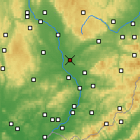 Nearby Forecast Locations - Przerów - mapa