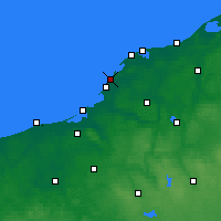 Nearby Forecast Locations - Darłowo - mapa