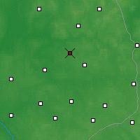 Nearby Forecast Locations - Białystok - mapa