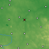 Nearby Forecast Locations - Sulejów - mapa