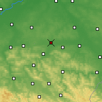 Nearby Forecast Locations - Rzeszów - mapa