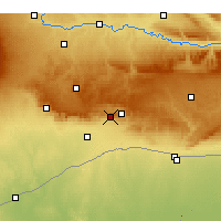 Nearby Forecast Locations - Mardin - mapa