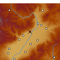 Nearby Forecast Locations - Qingxu - mapa