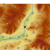 Nearby Forecast Locations - Xiangfen - mapa