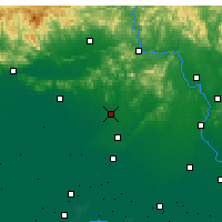 Nearby Forecast Locations - Fengrun - mapa