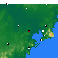 Nearby Forecast Locations - Jiaozhou - mapa