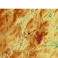 Nearby Forecast Locations - Yinjiang - mapa