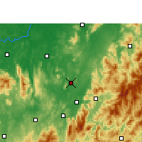 Nearby Forecast Locations - Yongxing - mapa
