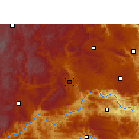 Nearby Forecast Locations - Xingyi - mapa