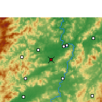 Nearby Forecast Locations - Nankang - mapa