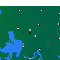Nearby Forecast Locations - Qingjiang - mapa