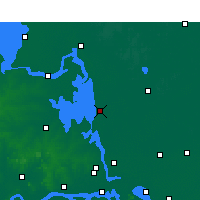 Nearby Forecast Locations - Gaoyou - mapa