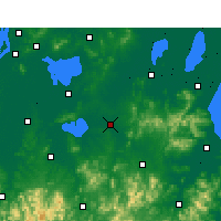 Nearby Forecast Locations - Langxi - mapa