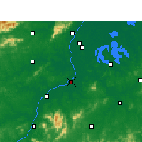 Nearby Forecast Locations - Fengcheng - mapa