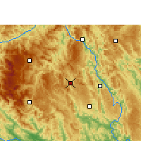 Nearby Forecast Locations - Fengshan - mapa
