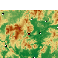 Nearby Forecast Locations - Ruyuan - mapa
