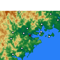 Nearby Forecast Locations - Longhai - mapa
