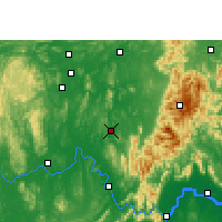 Nearby Forecast Locations - Xiangzhou - mapa