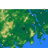 Nearby Forecast Locations - Kaiping - mapa