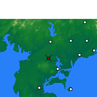 Nearby Forecast Locations - Suixi/GUD - mapa