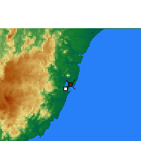 Nearby Forecast Locations - Vitória - mapa