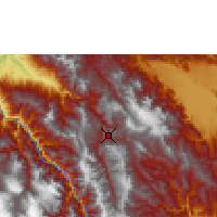 Nearby Forecast Locations - Chachapoyas - mapa