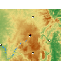 Nearby Forecast Locations - Applethorpe - mapa