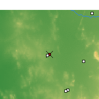 Nearby Forecast Locations - Wyalong - mapa