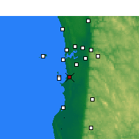 Nearby Forecast Locations - Medina - mapa