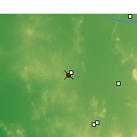 Nearby Forecast Locations - West Wyalong - mapa
