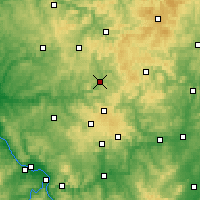 Nearby Forecast Locations - Siegen - mapa