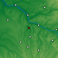 Nearby Forecast Locations - Nérac - mapa