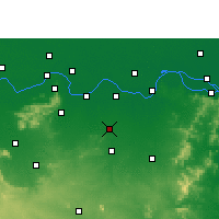 Nearby Forecast Locations - Amarpur - mapa