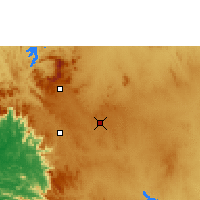 Nearby Forecast Locations - Hassan - mapa
