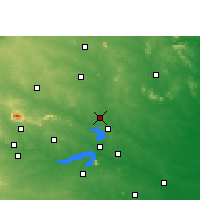 Nearby Forecast Locations - Jamtara - mapa
