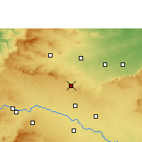 Nearby Forecast Locations - Manmad - mapa