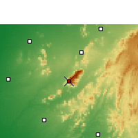 Nearby Forecast Locations - Abu - mapa
