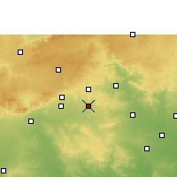 Nearby Forecast Locations - Narkhed - mapa