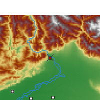 Nearby Forecast Locations - Pasighat - mapa