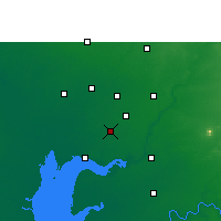 Nearby Forecast Locations - Petlad - mapa